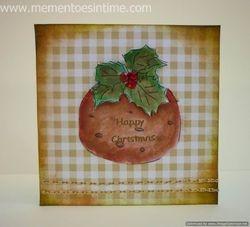 Christmas Pudding Gift Card