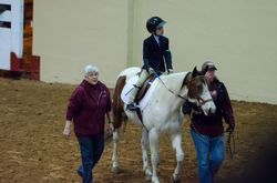 Haley cruising the arena