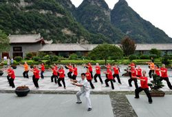 Taiji on Wudangshan