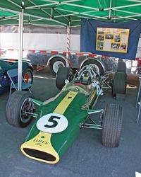 1967 Lotus 49 beautifully restored to it's original colors