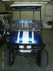 2010 Club Car Precedent-Customized