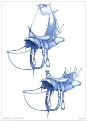 island saddle