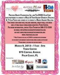 1st Annual Walk-A-Thon Against Domestic Violence and Bullying