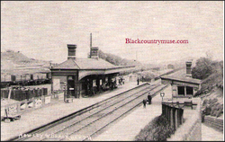 Blackheath Station. 1913.
