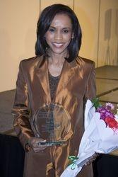 Award recipient Faye McClure