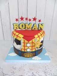 Roman's 2nd birthday cake