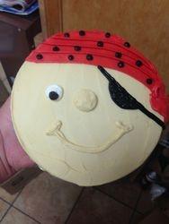 Pirate Head Cake