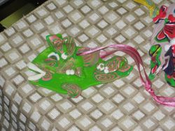 Fish Ornaments by Local Artist