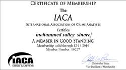 Member of IACA
