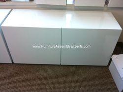 cb2 credenza storage cabinet installation service in Mclean VA