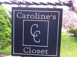 Caroline's Closet with bracket