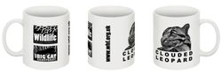 Clouded Leopard WHF mug
