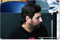 Tomas Berdych's coach, Martin Stepanek