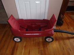 Radio Flyer 2-in-1 Pathfinder Wagon - $50