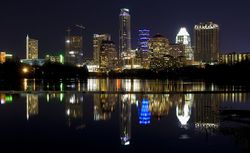 Austin Night Sky Light