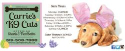 Easter Hours 2105