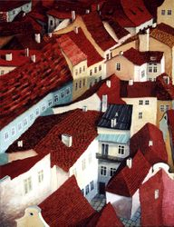 Prague Old Town Rooftops