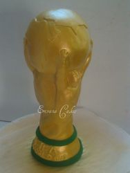 FIFA World Cup trophy cake (SP010)