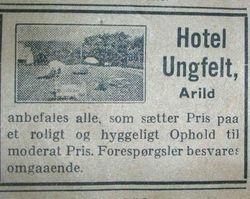 Hotell Ungfeldt 1939