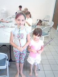 The Girls and their Talking Sticks