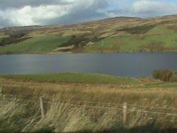 Approaching Loch Tay