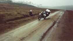 1989 'Not' the Alpine Rally @ Perkins Flat -  Total control on Rles Point Rd