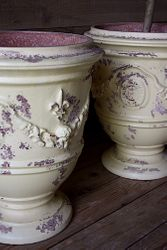 #29/141 FRENCH ANDUZE YELLOW PLANTERS  DETAIL