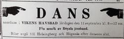 Vikens havsbad 1926