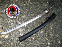Well-balanced 5160 Spring Steel Katana Sword