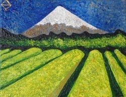 Thé vert au Mont Fuji, 2013