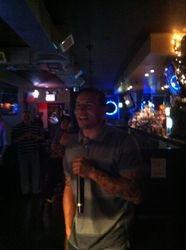 Felipe Jr. handlin Maria Maria at 502 Bar Lounge's Social Saturday Karaoke Night!