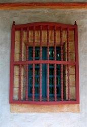 Santa Barbara Mission Window