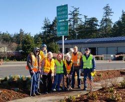 Adopt-a-Hwy 126 volunteers