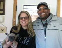 Benji Leaving for His New Homw With His New Family