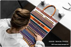How Dior's Embroidered Book Tote Bag Is Made
