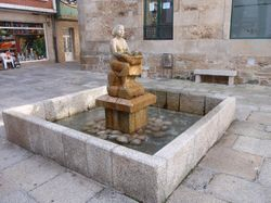 One of the many small squares in Pobra