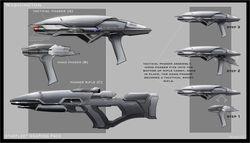 Starfleet weapons pack details