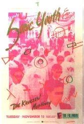 1988-11-15 The Fillmore, San Francisco, CA