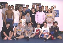 2005 - practice with Daniel Igali at Ronin Mixed Martial Arts (Ottawa, ON)