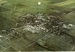 Aerial View of Ipswich, South Dakota