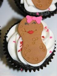 Peanut Cupcake Topper