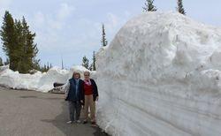 Leaving Yellowstone for Grand Tetons