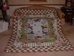 My Home Town Quilt - FOR SALE