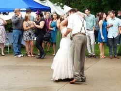 Bride & Groom 1st dance as a couple.