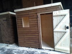 Pent Shed (8' x 6')