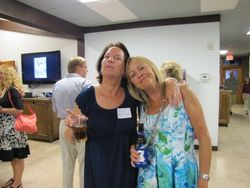 Sue Nagel Normandin and Debbie Roth Thomas