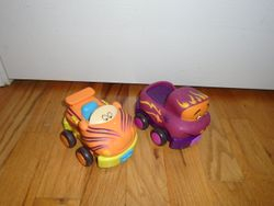 Battat B. Wheeee-ls! Soft Cars- 4 - $15
