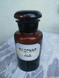 Antikvarinis vaistines butelis. Kaina 43