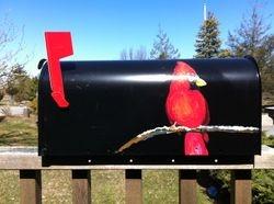 Hand Painted Mailbox