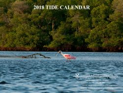 2018 Tide Calendar